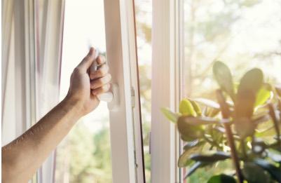 fenêtre pvc ouverture en oscillo battant
