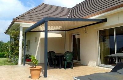 Pergola terrasse maison